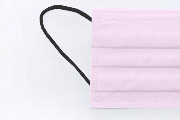 mascarilla rosa quirúrgica comodon