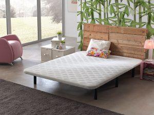 Base tapizada de comodon